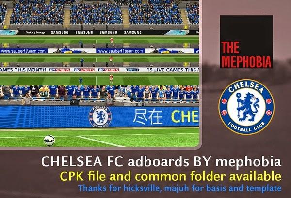 Update PES 2015 Chelsea FC Adboards