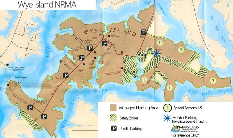 Wye Island Nrma Map