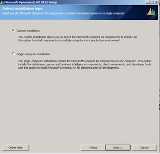 Microsoft dynamics ax 2009 and 2012 installation and for Dynamic configuration tool