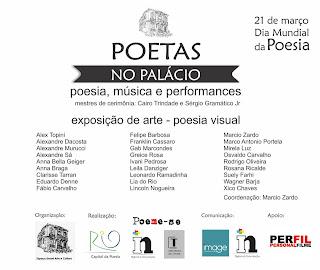Viva o dia 21 de março, o Dia Mundial da Poesia!