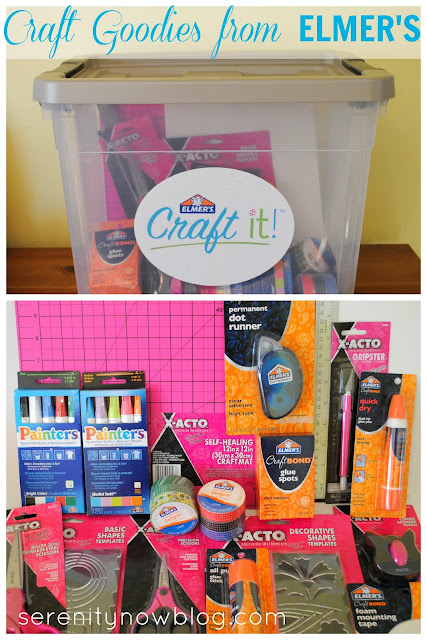 Elmer's Craft It! Box (Giveaway Coming Soon) from Serenity Now blog