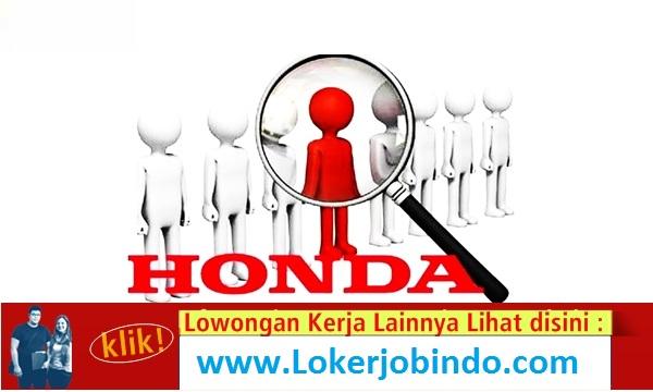 Lowongan Kerja Terbaru PT Honda Prospect Motor 4 Posisi