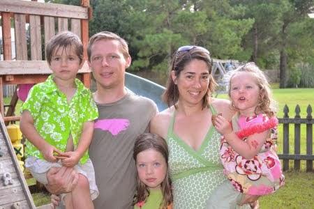 Andrew, Fiona, Lucinda, Henry & Felicity