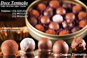 Doce Tentação - Arte em Chocolate Tel.: (13) 99111-2747