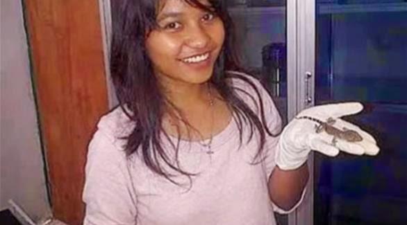 غريب جدا: إندونيسية تنجب سحلية والممرضة تؤكد
