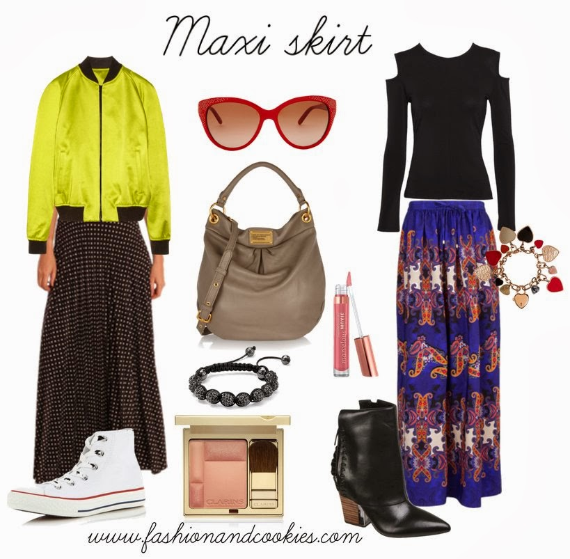 How to style a maxi skirt, Fashion and Cookies, fashion blogger