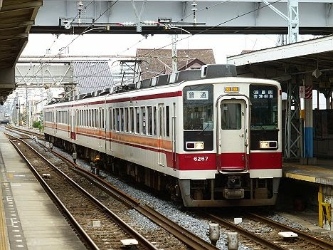 東武日光線・鬼怒川線 普通 会津田島行き 6050系