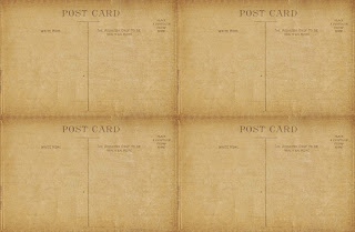 free printable antique postcards for Christmas tree ornaments - KnickofTime.net