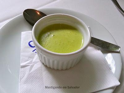 Oui Restaurant: Pois à la Crème