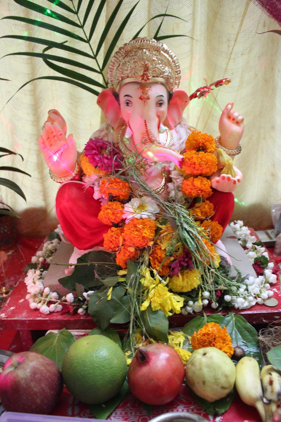 Ganesh chaturthi flowers may flower blog - Happy Ganesh Chaturthi Dear Reader All The Best Now I Ll Check How The Elections In Norway Is Turning Out From One Thing To The Other Today