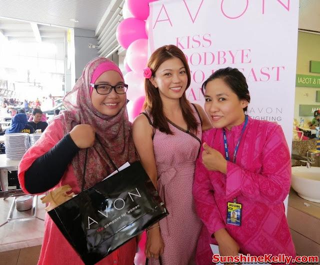 Avon, Avon Kiss Goodbye to Breast Cancer 2013, Bus, Mydin Malaysia, Breast Cancer awareness, rubydotmy
