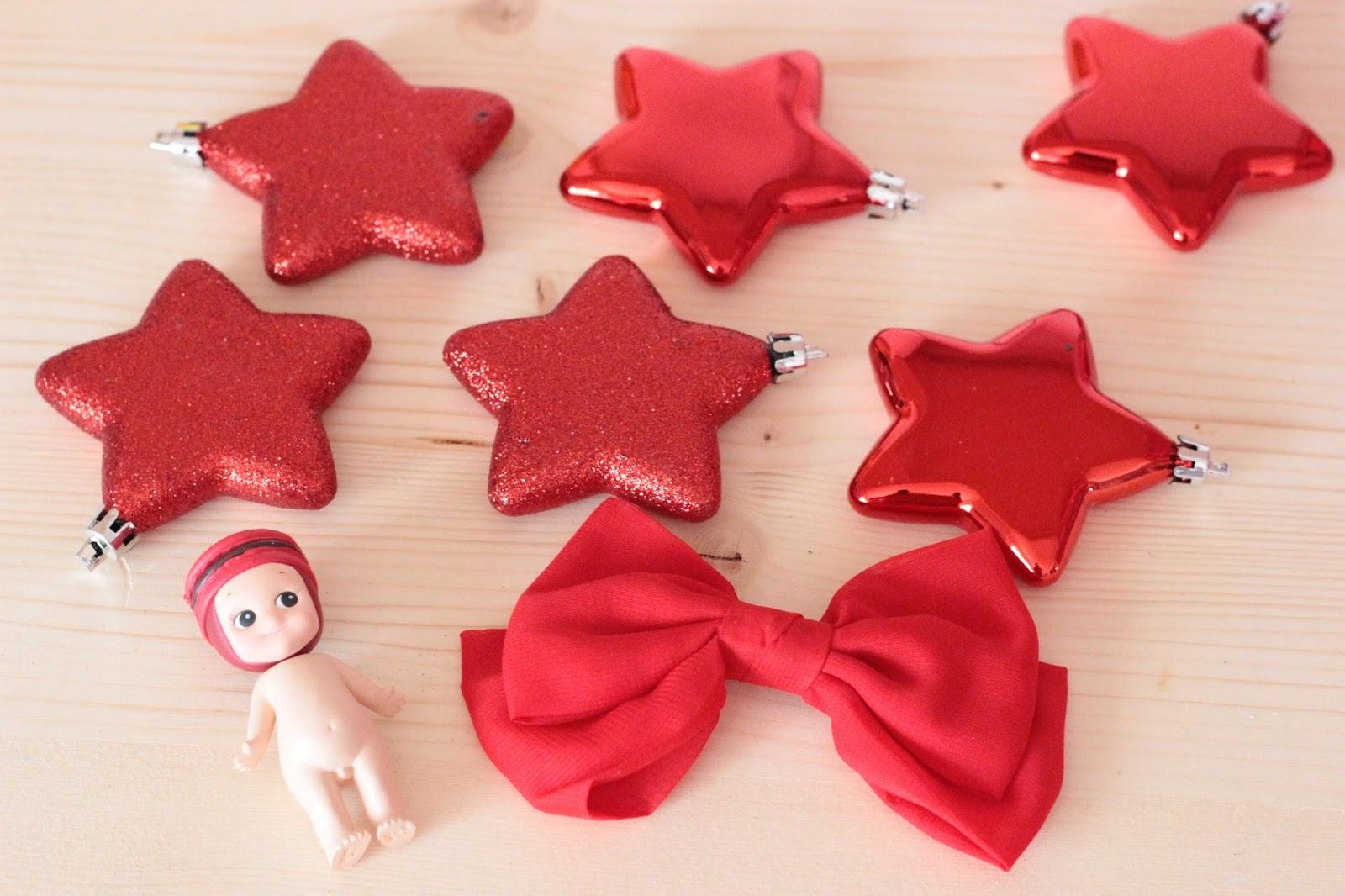 étoile noel rouge