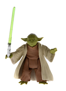 "Hasbro Star Wars Saga Legends 3.75"" Yoda figure"