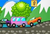 Kasabada Araba Yarışı
