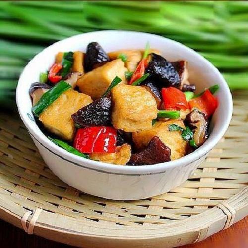 Cách làm món đậu xào rau củ