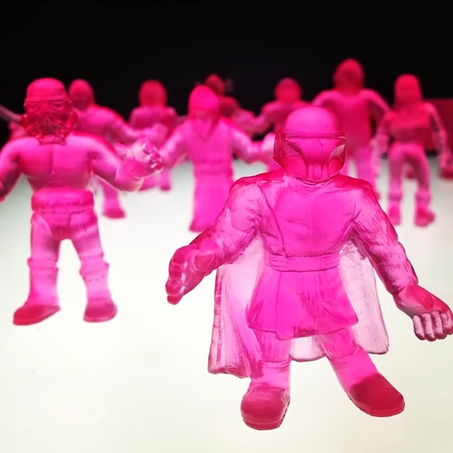 Super Suckstore Exclusive Clear Pink S.U.C.K.L.E. Series 1 Mini Figures by The Super Sucklord