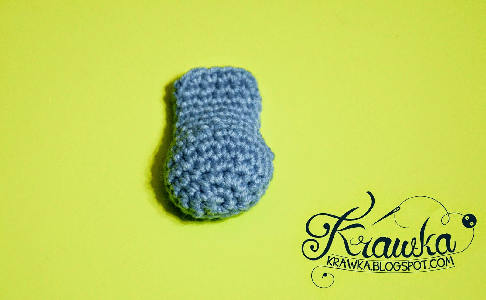 Krawka: My little Pony - crochet hair clip FREE PATTERN