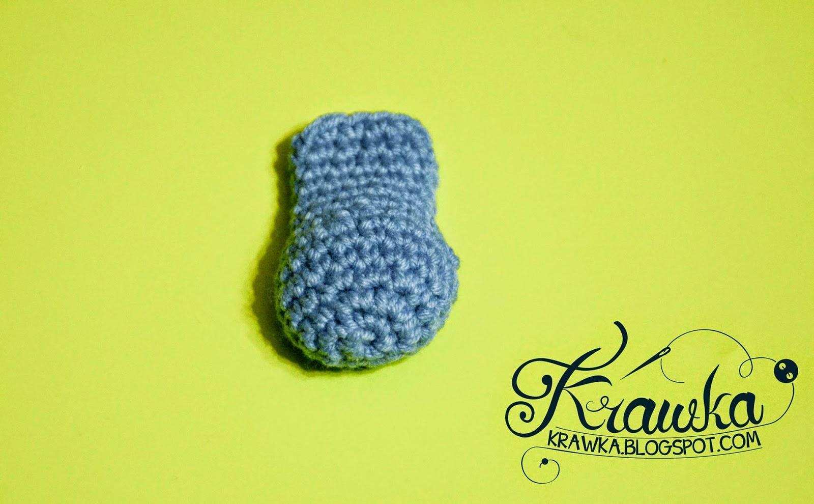Crochet Hair Clip Pattern : Krawka: My little Pony - crochet hair clip FREE PATTERN