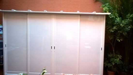 Carpinter a de aluminio sevilla aluminio tres mueble for Ventana aluminio 120x120