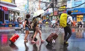 Một số điều cần tránh khi đi du lich mùa mưa