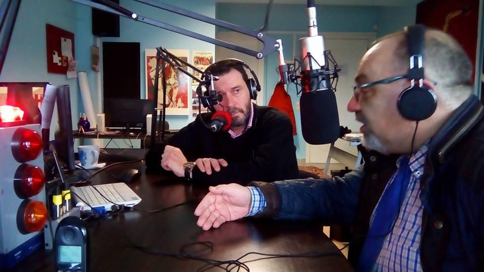 25-1-2017 Συνέντευξη Προέδρου Δ.Σ. Δράμας στο ΡάδιοΆλφα 95,5