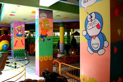 Lukis dinding kartun dinding dari bali toon mengerjakan for Mural kartun
