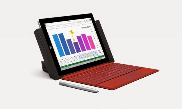 Microsoft | Surface 3 | Windows | Tablet | Laptop | Ultra-portable | Docking Station
