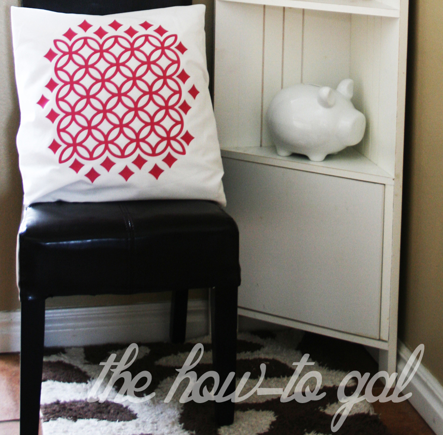 The How To Gal Kid S Nook With Cricut Iron On Vinyl