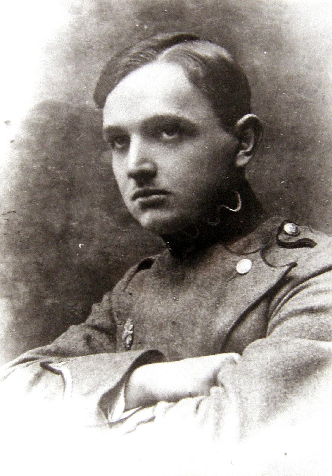 Janusz Malanowicz, lata dwudzieste XX wieku. Foto. udostępniła Małgorzata Malanowicz.