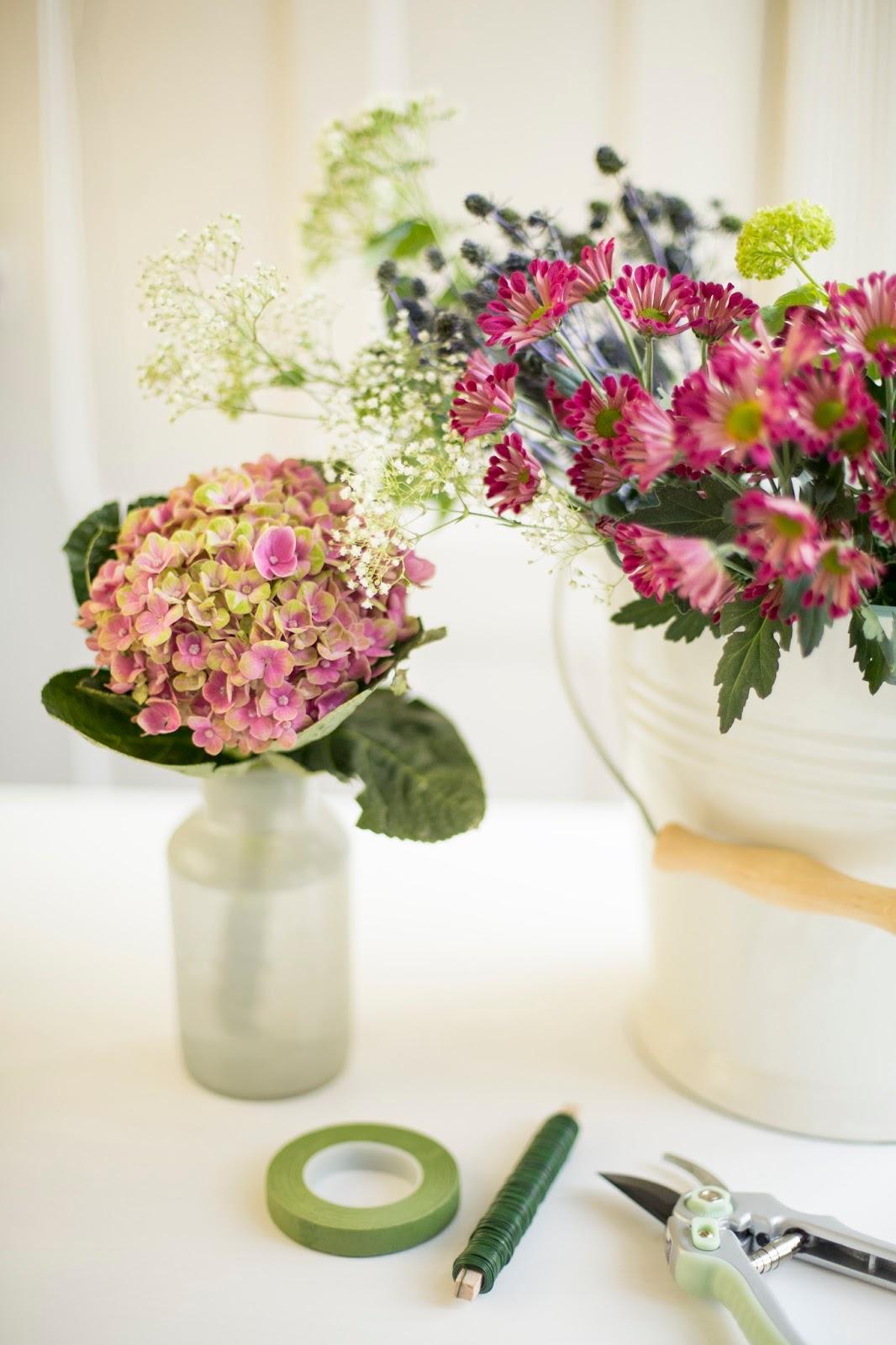 Blumenkranz DIY Anleitung