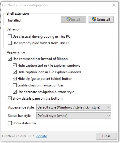 How to install 3rd party theme on windows 10