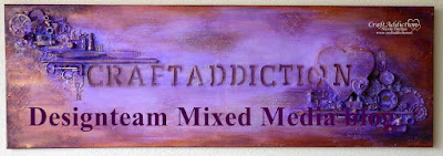 CraftAddiction Designteam Mixed Media blog