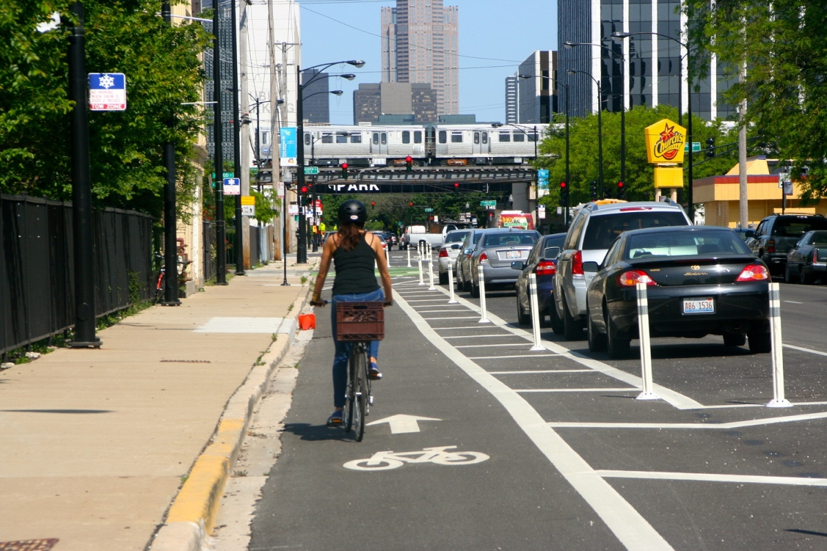 Bikewalklee Blog Fhwa Introduces Separated Bike Lane Planning And Design Guide
