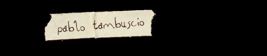 Pablo Tambuscio