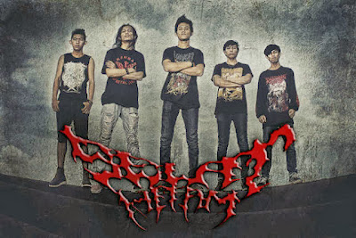 Selat Hitam Band Death Metal Riau Foto Personil Logo Wallpaper
