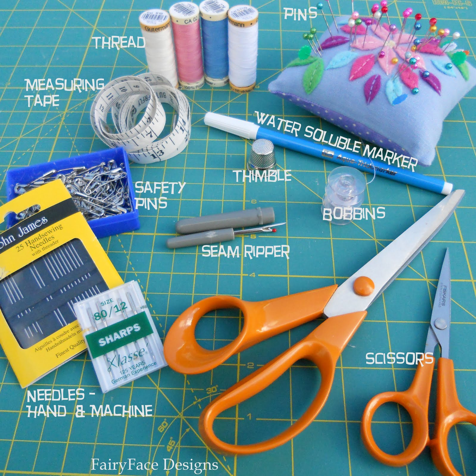 Sewing Supplies: List Of Basic Sewing Supplies