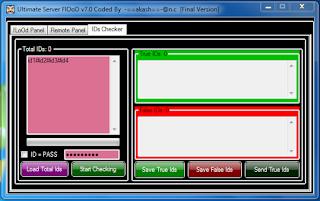 flood server software v7.0 Captureidchecker