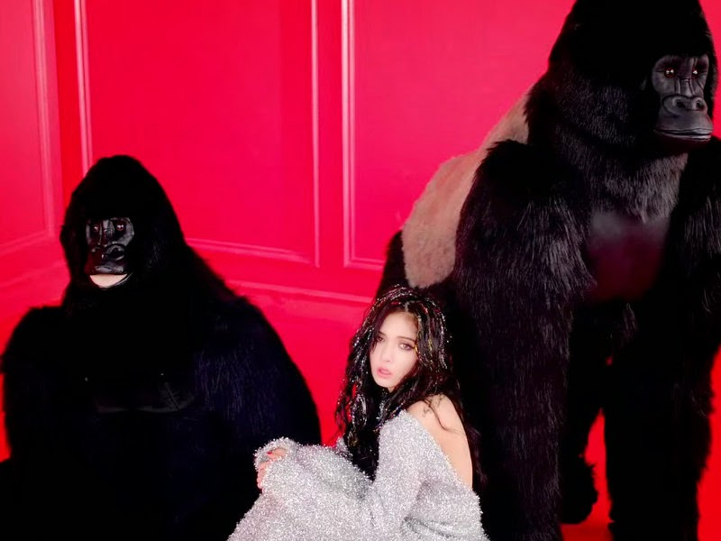HyunA Red Apes