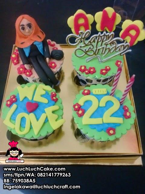 Cupcake Ulang Tahun Untuk Sahabat