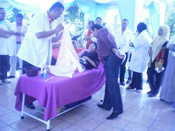 Hidroterapi Ais - Sabtu 19 Feb.2011.