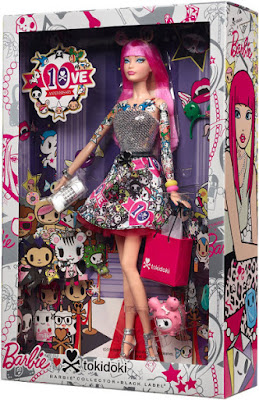 TOYS : JUGUETES - BARBIE Collector : Black Label  Tokidoki : 10th Anniversary | Muñeca - Doll  Producto Oficial 2015 | Mattel CMV57 | Edad: for the Adult Collector  Comprar en Amazon España & buy Amazon USA