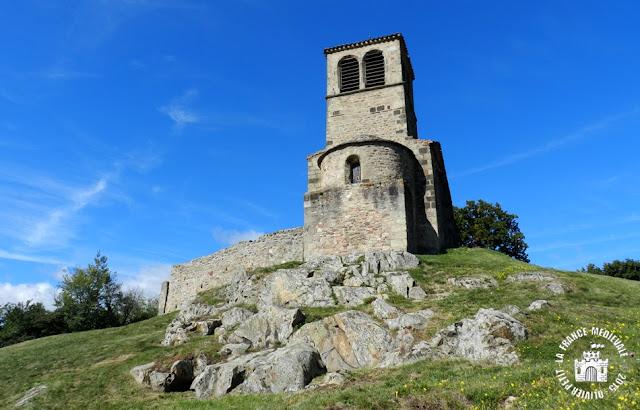SAINT-LAURENT-D'AGNY (69) - Eglise romane Saint-Laurent