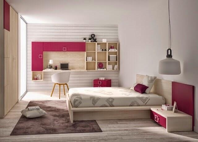 Dormitorio juvenil con tatami