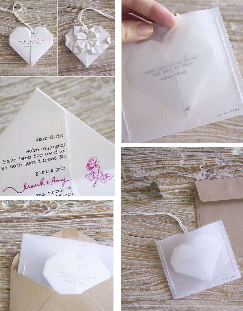 "Favorito THAT DAY WEDDING PLANNER: ORIGAMI ovvero ""l'arte di piegare la carta"" QU48"