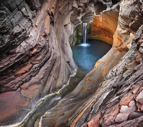 Austrália - Karijini falls