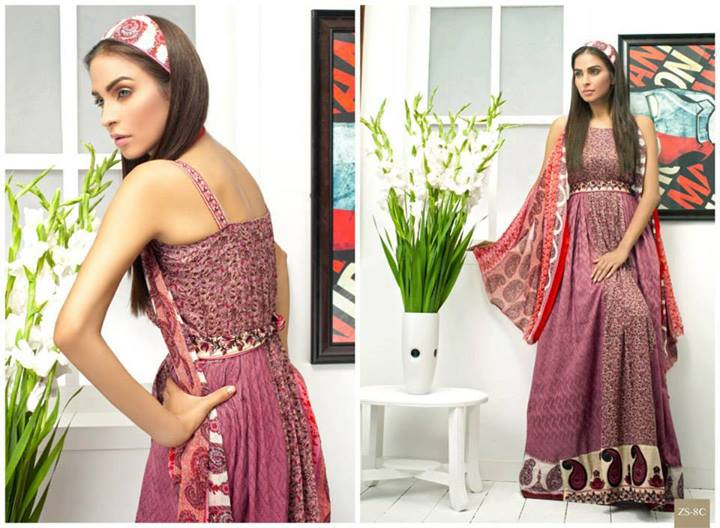 Pehnawa+Eid+Dress+Latest+Collection+by+ZS+Textiles+(13) Latest Pehnawa Eid Dresses by ZS Textiles