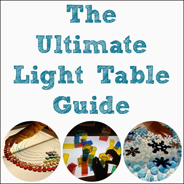 Follow The Ultimate Light Table Guide on Pinterest!