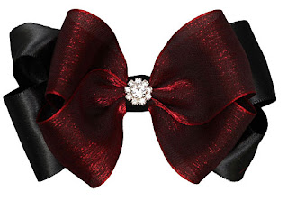 Couture girl hair bows
