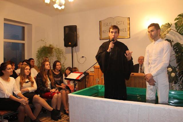FOTO: Botez la Biserica Nadejdea din Ghizela - 13 decembrie 2015