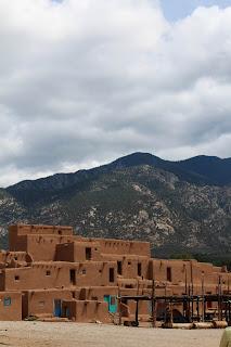 Taos Pueblo, Taos, New Mexico, USA